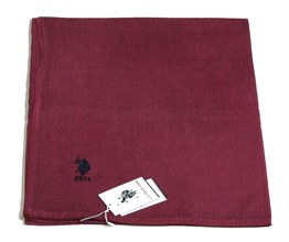 U.S. Polo Assn Şal - PS01 Bordo